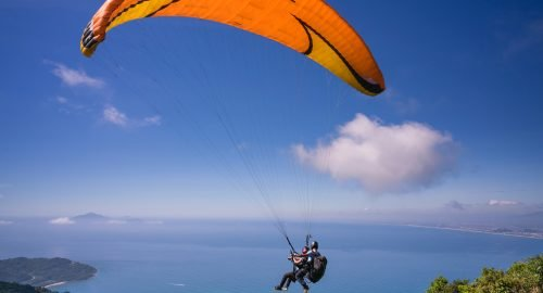 What are parasailing and paragliding?